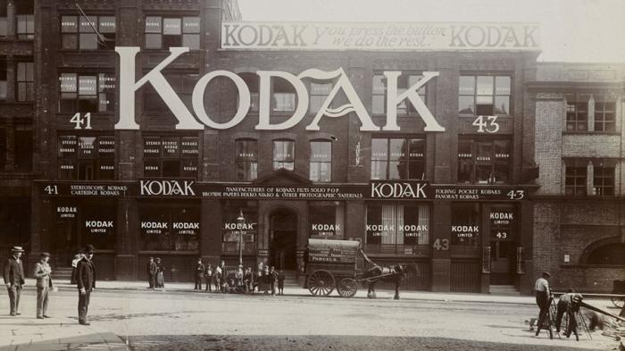 fotografia de kodak