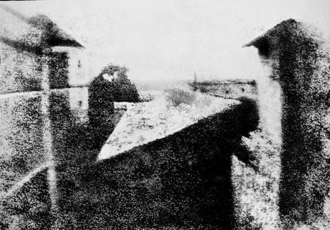 Primera foto de daguerrotipo 1826